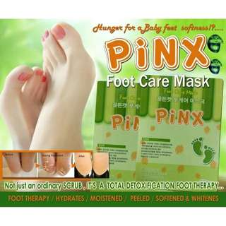Pinx foot care mask foot therapy moisture mask