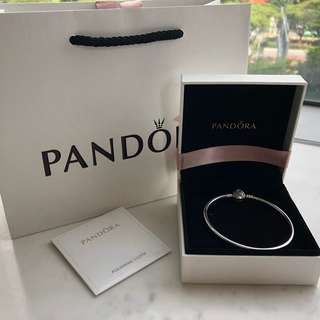Mother's Day Special! Authentic BN Pandora - Limited Edition Pattern of Love bangle