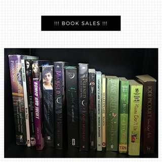 🚚 Book sales!!!