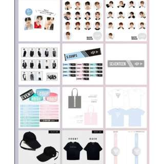 [MY GO/CLOSED!]SEVENTEEN 'WE MAKE YOU' Japan Debut Showcase Goods