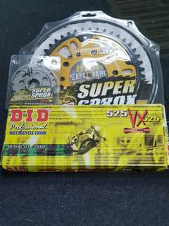 Super Sprox Sprocket for CB400