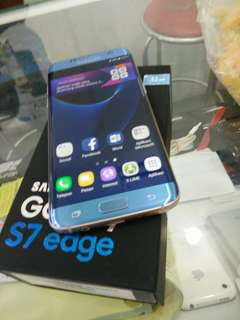 Samsung S7 EDGE 32GB Bluecorral Dualsim ex International super mulus