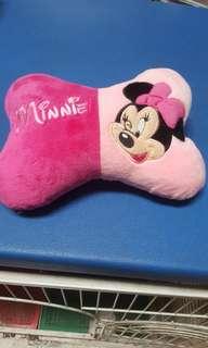 Senderan kepala Minnie mouse pink