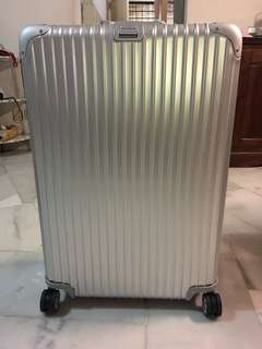 Original Brand New Rimowa Topas Multiwheel 98L Without E-Tag - Large Sized Luggage Bag