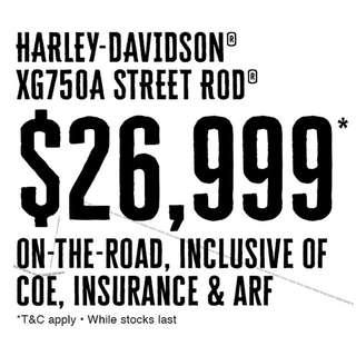 Harley-Davidson XG750A Street Rod 750
