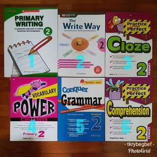 Clearance P2 English Assessment book