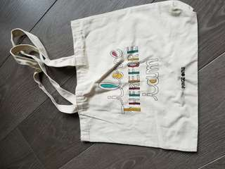 Page one 書店 tote bag