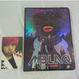 MBLAQ SEXY BEAT ALBUM + OFFICIAL PHOTOCARD