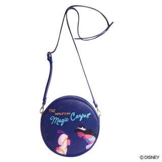 Japan Disney Accommode Disney Navy Mini Shoulder Bag