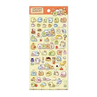 Only 2 Instock! (Mix & Match)*San-X Japan - Sumikko Gurashii Brunch theme Stickers
