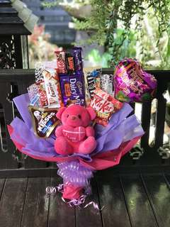 Mother's day chocolate bouquet