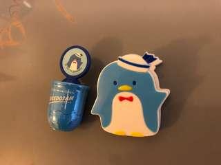 Sanrio企鵝印仔加夾仔