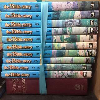 The Bible Story + Bible Dictionary
