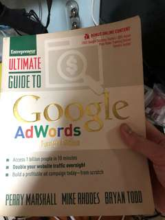 Ultimate guide to google Adwords 4th edition