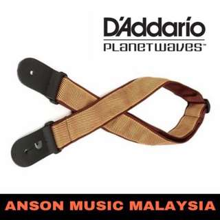 D'Addario Planet Waves 50B06 Woven Guitar Strap, Tweed