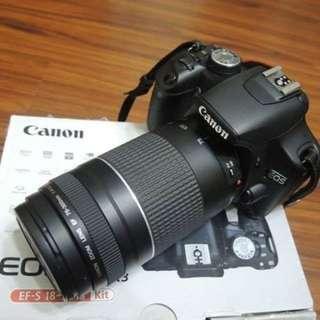 【出售】Canon 500D 數位單眼相 盒裝完整 9成新