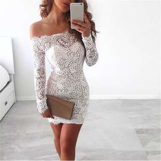 Lace Party Bodycon Dress