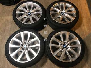BMW 原廠19吋鋁圈+胎