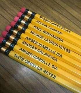 Personalised Pencil