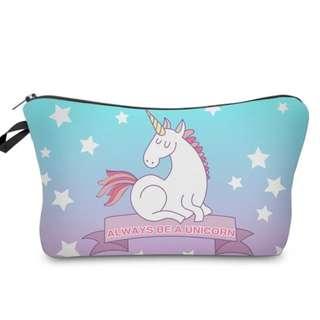 Unicorn pencil case / pouch