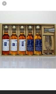 日本麒麟蒸餾所出品,原酒威士忌調酒套裝。