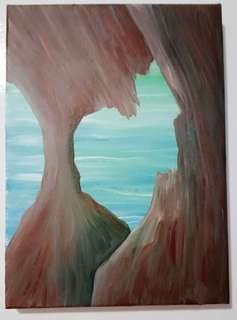 🎨手繪油畫 24*33cm