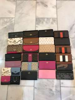 Ready Stock Original Coach women wallets purse