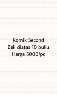 Komik Second obral