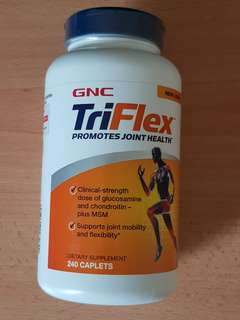 (Priced to sell) GNC TriFlex 240 caplets