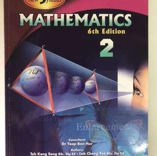 Shinglee Mathematics 2 6th Edition