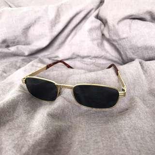 Vintage Gold Frame Sunglasses