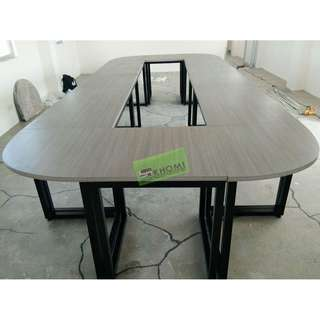 A SERIES TABLE ARRANGEABLE CONFERENCE TABLE--KHOMI