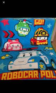 Instock now !! 2sets only  robocar poli blankets brand new size 150x 200cm