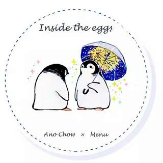 Inside the Egg by MenuS Washi Tape