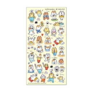 Only 2 Instock! (Mix & Match)*Mind Wave Japan - Goro Goro Nyansuke Food theme Stickers