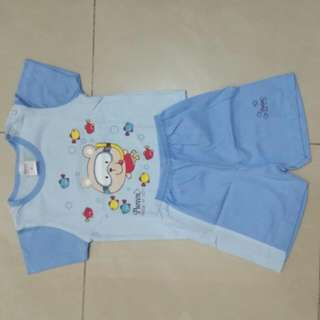 New one set boy Tee and short