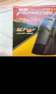 全新森森UV魚缸殺箘燈5W JUP-02