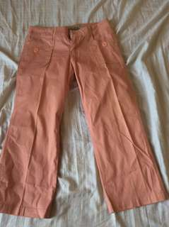 GUESS JEANS PINK PANTS