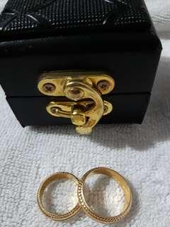 21k Saudi Gold Wedding Ring