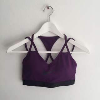Nike Purple Sports Bra