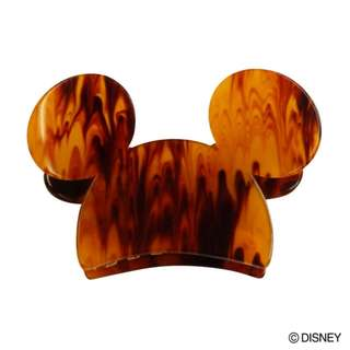Japan Disney Accommode Mickey Mouse Brown Hair Clip
