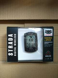 Cateye Digital Wireless speedometer