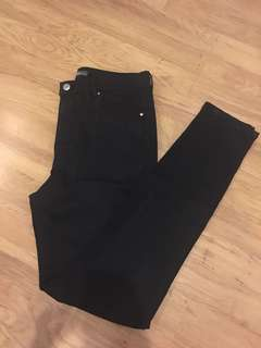 Bershka skinny jeans (dark blue)