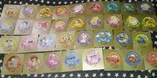 (私人珍藏)34張迪士尼貼紙