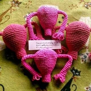 Gantungan kunci vulva