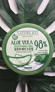 Nature Key 98% Aloe Vera Soothing Gel