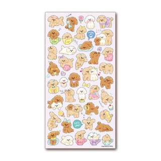 Only 3 Instock! (Mix & Match)*Mind Wave Japan - Poodle theme Stickers