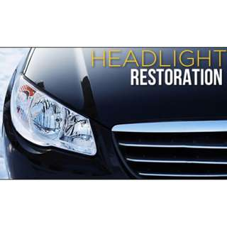 HEADLIGHT RESTORATION - CAR SERVICE