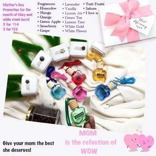 Hanging perfume