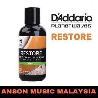D'Addario Planet Waves RESTORE Deep Cleaning Cream Polish